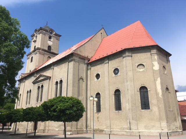 Výlet do Pezinku - kostol