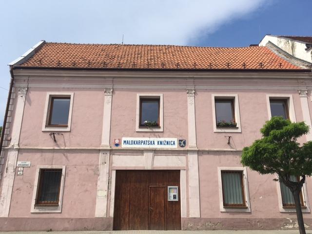 Výlet do Pezinku - Malokarpatská knižnica