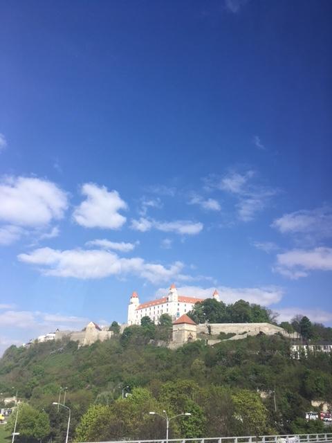 Návrat na Slovensko - Bratislavský hrad