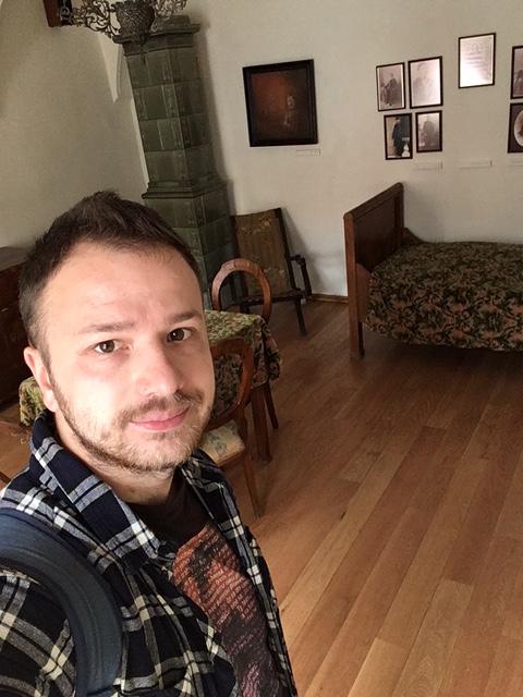 Návšteva Ľudovíta Štúra Jeho podobizeň - Pamätná izba
