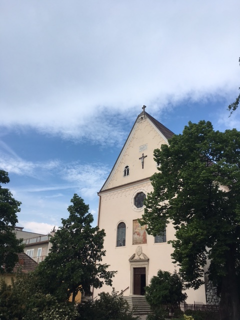 Výlet do Pezinku - Kostol Kapucínov