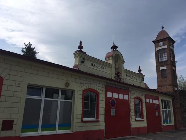 Výlet do Pezinku - Hasičská zbrojnica