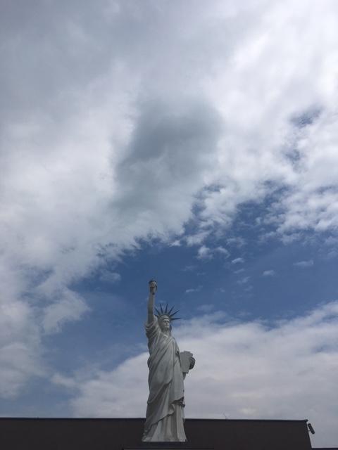 Výlet do Pezinku - Socha slobody