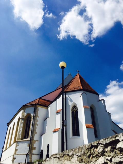 Výlet do Svätého Jura - kostol sv. Juraja
