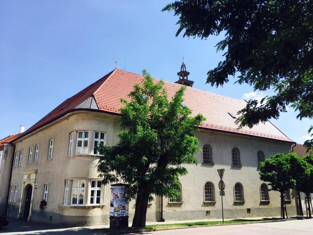 Výlet do Svätého Jura - Evanjelický kostol