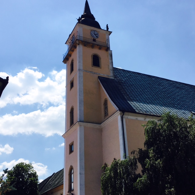 Výlet do Svätého Jura - kostol sv. Trojice