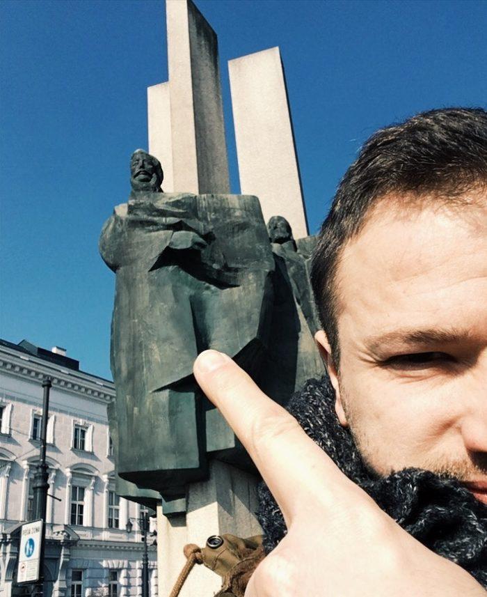Potulky v Bratislave - Staré mesto SOCHA Štúra