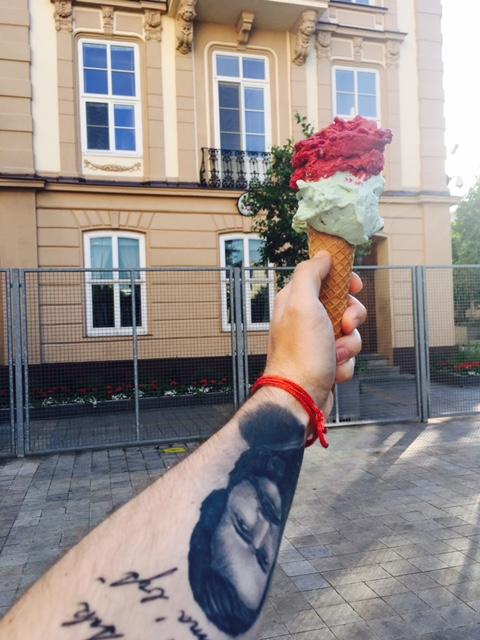 potulky Bratislavou KOUN zmrzlina