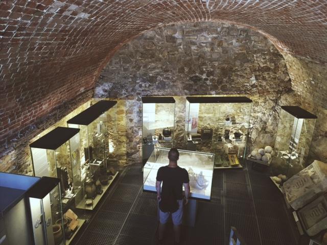 Výlet na hrad Devín expozície