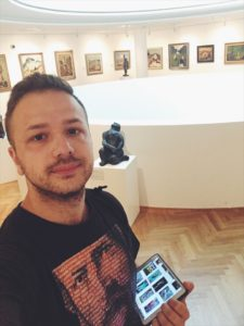 Galéria Nedbalka v Bratislave - elektrický sprievodca