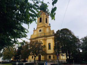 Čo vidieť v Seredi - kostol