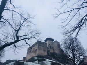 Hrady na Slovensku - Trenčiansky hrad