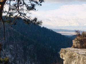 Turistika v zime - Tomašovský výhľad