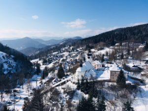 Turistika v zime - Špania dolina