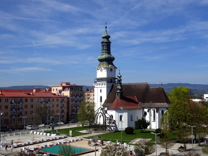 Zaujímavé miesta vo Zvolene - kostol