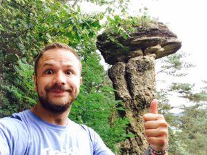 Prírodné unikáty Slovenska - Skalný hríb v Markušovciach