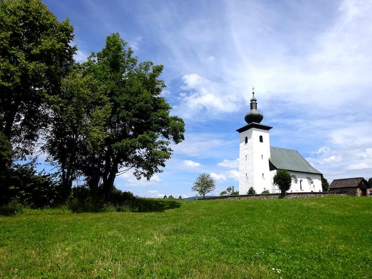Stred Európy - Kostol sv. Jána Krstiteľa