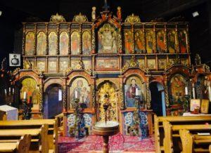 Drevené kostoly - Ladomírová