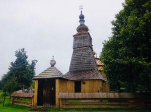 Drevené kostoly - Ladomirová