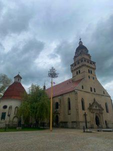 Pamiatky na Záhorí - Kostol v Skalici