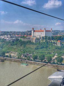UFO Bratislava - hrad