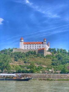 Plavba loďou - Bratislavský hrad