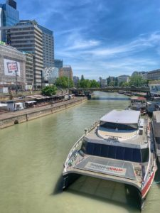Plavba loďou - Viedeň